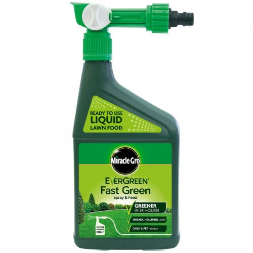 Miracle-Gro Evergreen Fast Green Spray and Feed 1L