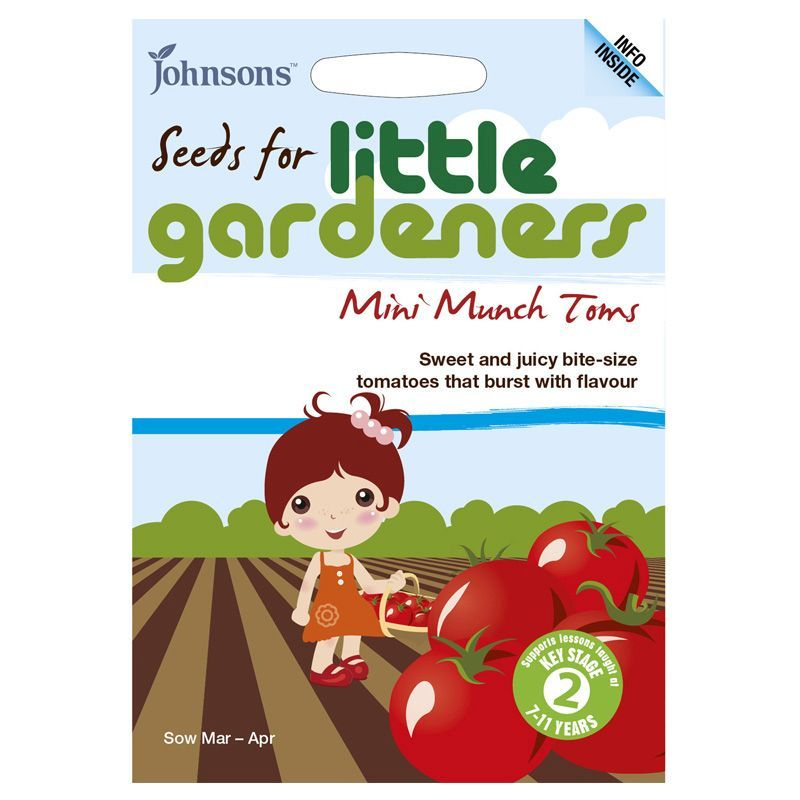 Tomato 'Mini Munch' Seeds Little Gardeners