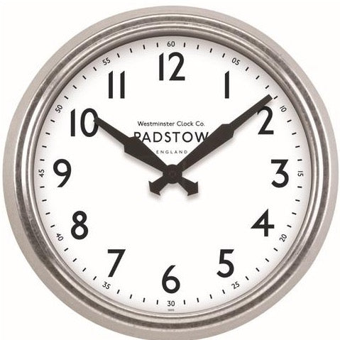 Wall Clock Padstow 15""