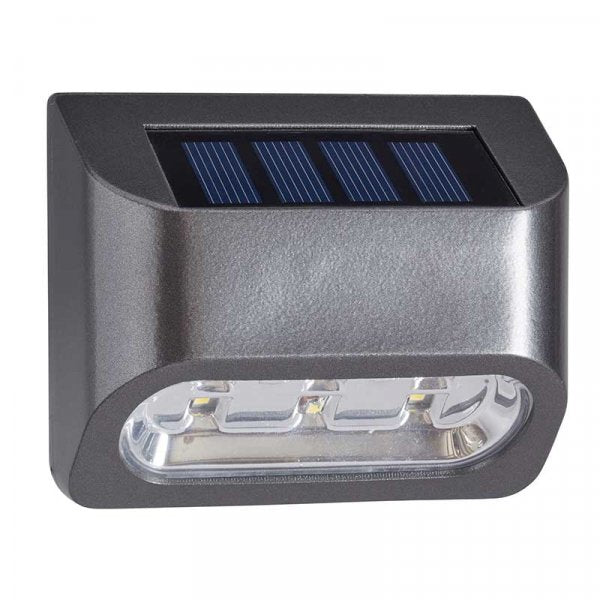Premier Solar Powered Wall, Fence and Post Light 10L