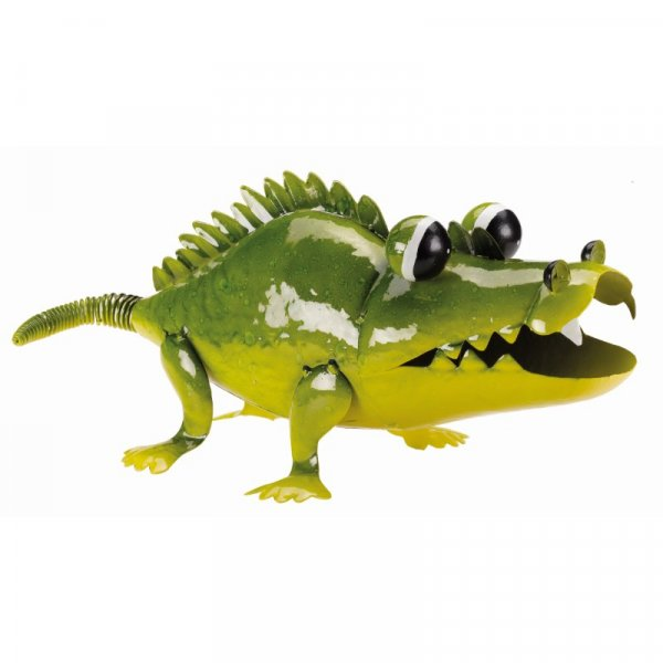 Smart Garden Ali-Gator Ornamental Metal Figure