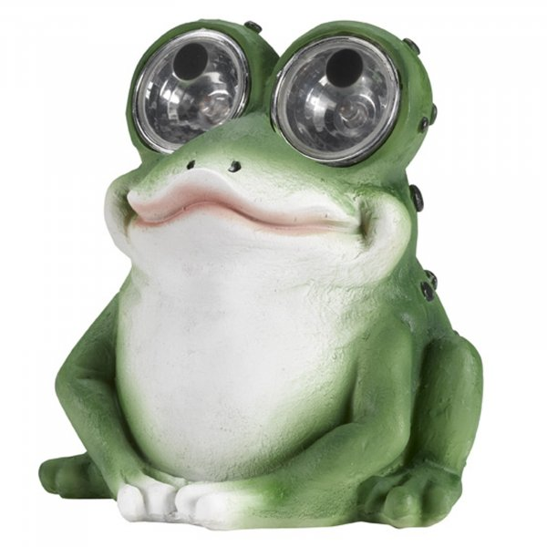 Smart Garden Bright Eye Frog Solar Light
