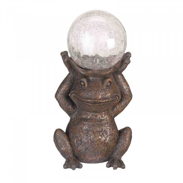 Gazing Frog Solar Light