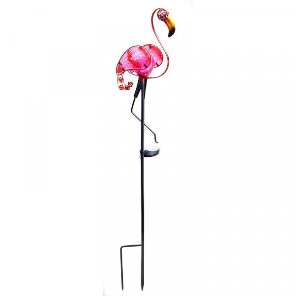 Solar Powered Flamingo Stake Light
