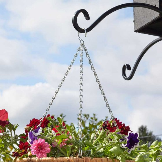 Hanging Basket Chain Galvanised 3 Way Replacement