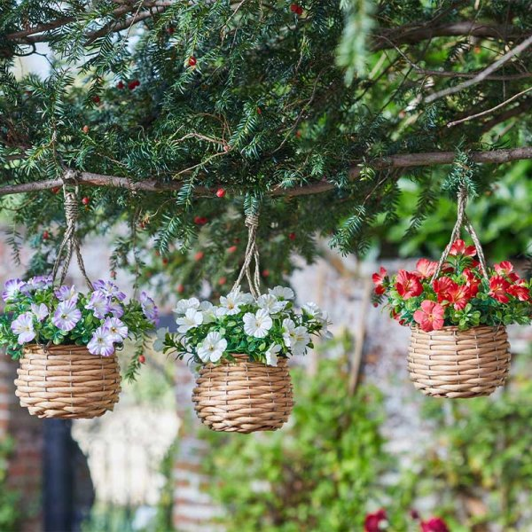 Smart Garden Basket Bouquets - Blossom