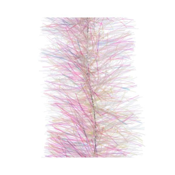Kaemingk Shiny Pink Tinsel Garland 4ply