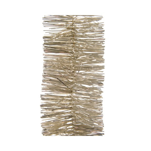 Kaemingk Tinsel Garland Shiny Gold