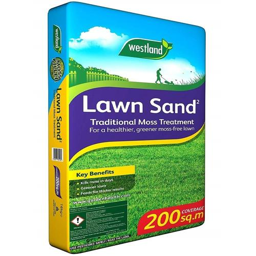 Lawn Sand Traditional Moss Treatment 200sqm 16kg
