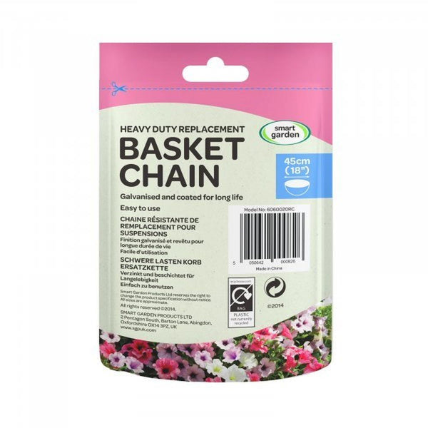 Hanging Basket Chain Galvanised 4 Way Replacement