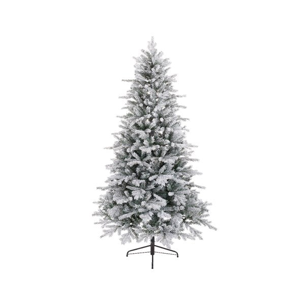 Frosted Vermont Spruce Artificial Christmas Tree 7ft
