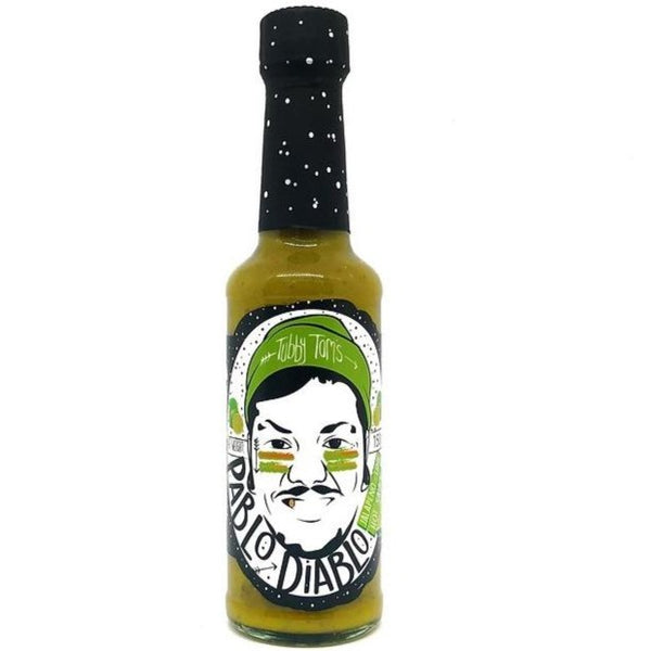 Tubby Tom's Pablo Diablo Hot Sauce 150ml