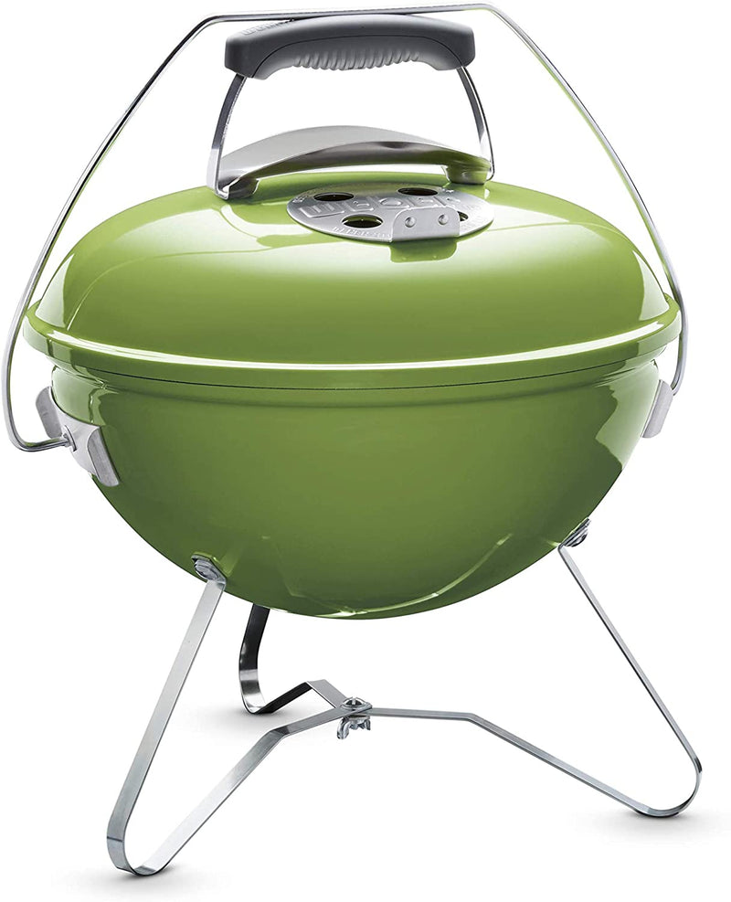 Weber Smokey Joe Premium Charcoal Barbecue - Spring Green