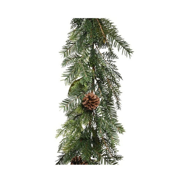Buy Kaemingk Decorative Natural Pinecone Garland - Cornwall Garden Shop