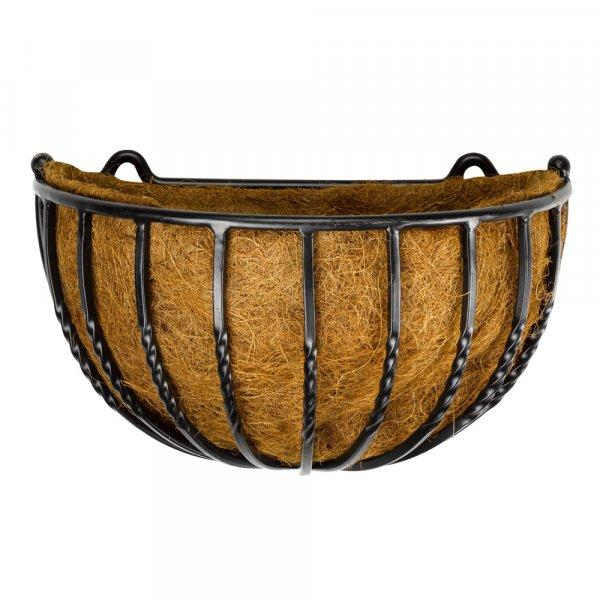 "Buy 16"" Forge Wall Basket - Cornwall Garden Shop"