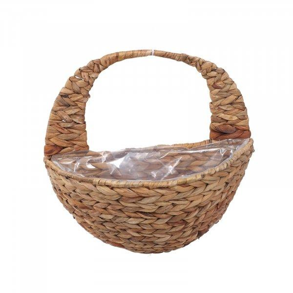 "16"" Hyacinth Wall Basket - Cornwall Garden Shop"
