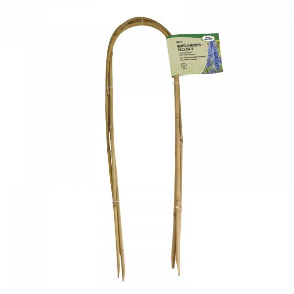 Smart Garden 120cm Bamboo Hoops - Pack of 3