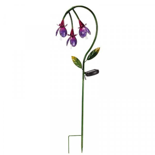 Solar Powered Fuchsia Stake Light