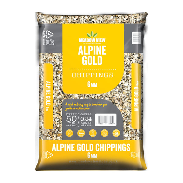 Alpine Gold Decorative Gravel 20kg Bag - Cornwall Garden Shop
