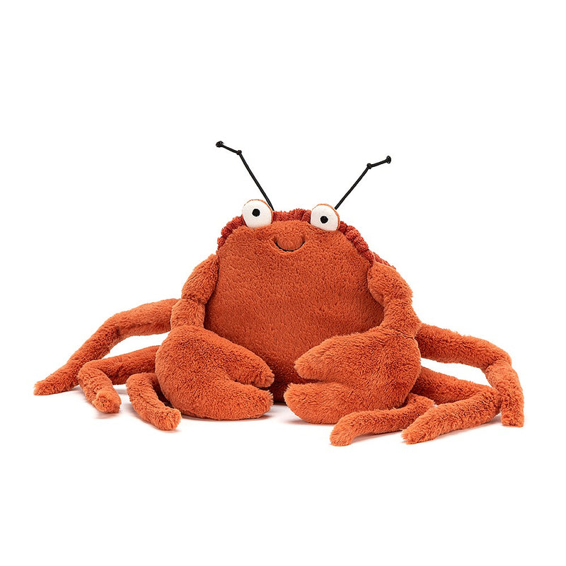 Plush 'Crispin Crab' Medium