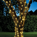 100 Warm White Firefly String Lights Solar Powered LED