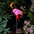 Solar Power Pink Flamingo  90cm (H)