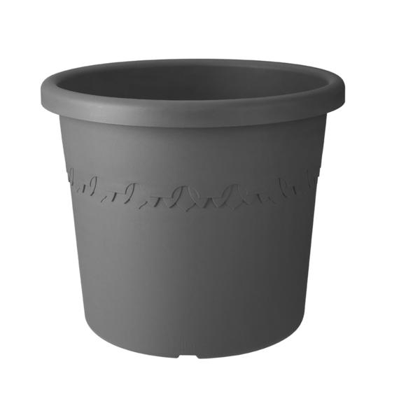 Algarve Cilindro 25cm Outdoor Pot ANTHRACITE