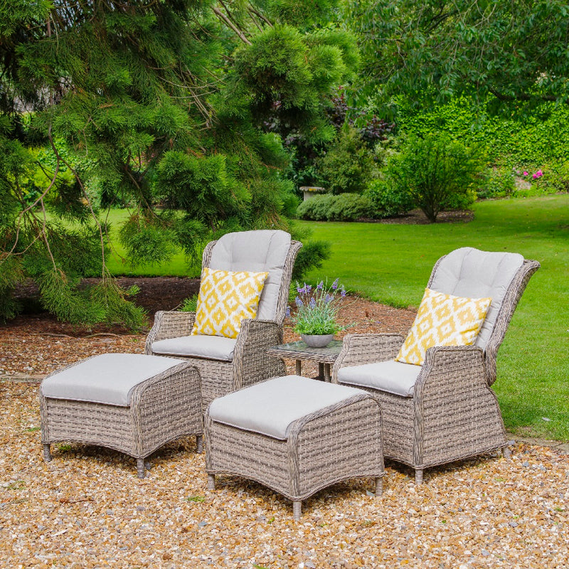 Lyon 5 Piece Reclining Duo Set