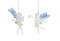 Festive Fairies Purple and Green 15cm - 2 Styles Assorted