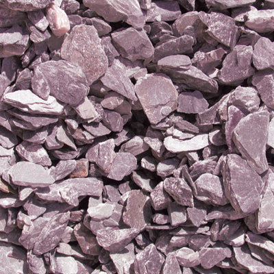 Plum Slate 40mm Decorative Chippings Bulk Bag