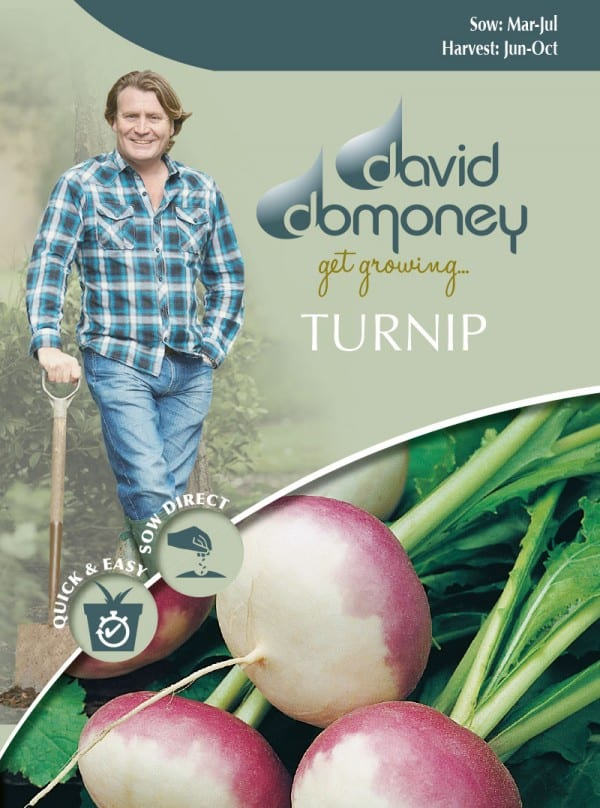 Turnip Seeds David Domoney