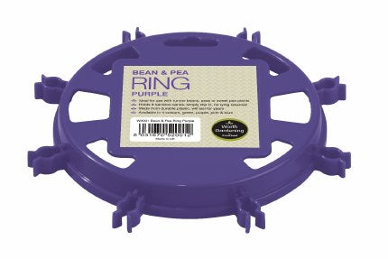 Pea & Bean Ring Purple