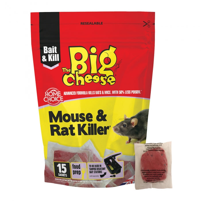 Mouse & Rat Killer² Pasta Sachets (15pk)