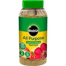 Miracle-Gro All Purpose Slow Release Plant Food 1kg Shaker Jar