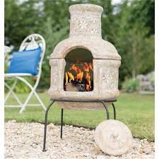 Chimenea Star Flower Small with Grill