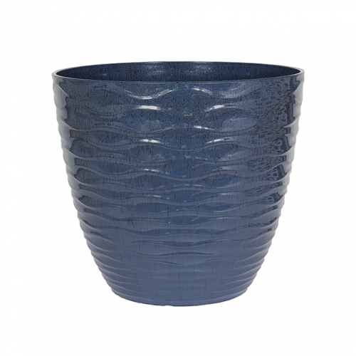 Windermere Large Outdoor Pot BLUE