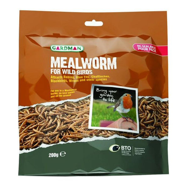 Mealworm Pouch 200g