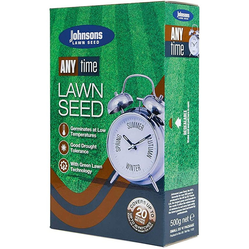 Johnsons Any Time Grass Seed 500g