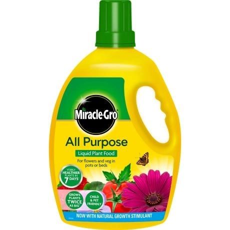 Miracle-Gro All Purpose Concentrated Liquid Plant Food 2.5L