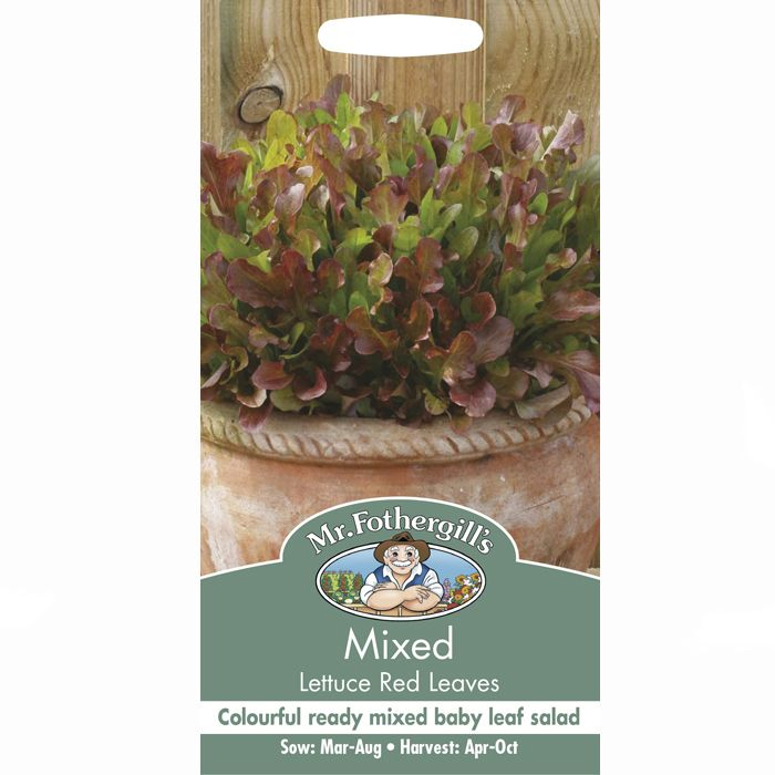 Lettuce Mixed Red Leaves Seeds