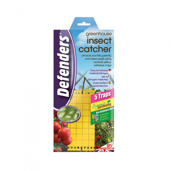 Greenhouse Insect Catcher Traps (5pk)