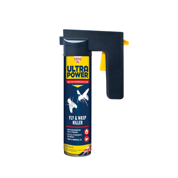 Fly & Wasp Killer Ultra Power Trigger Aerosol 600ml