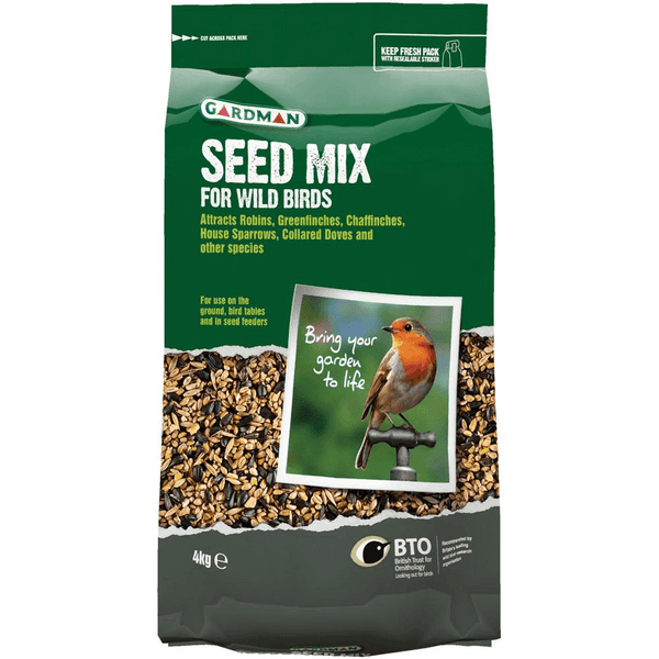 Bird Food Seed Mix Pouch 2kg