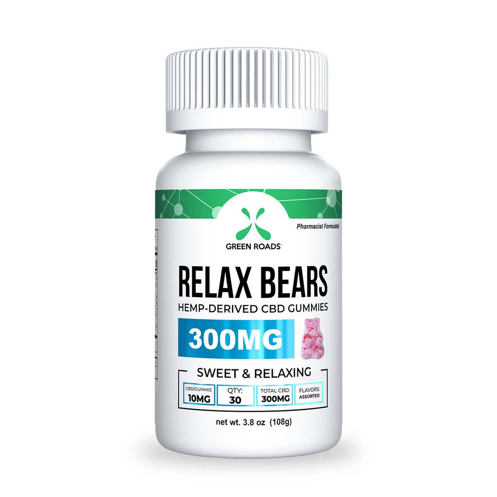 Relax Bear Gummies - Grass&Co CBD Washington DC Grass & Co Smoke Shop Washington DC CBD Oil CBD Flower CBD Hemp Cigarettes