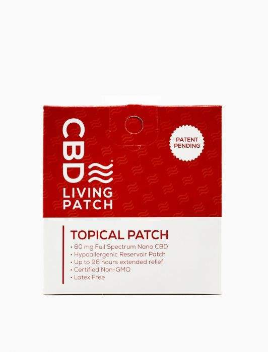 Living CBD Patch - Grass&Co CBD Washington DC