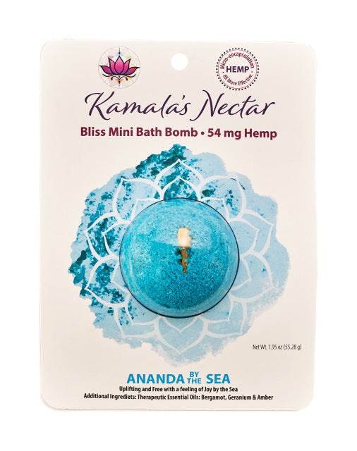 Kamala's Nectar Bath Bombs - Grass&Co CBD Washington DC Grass & Co Smoke Shop Washington DC CBD Oil CBD Flower CBD Hemp Cigarettes