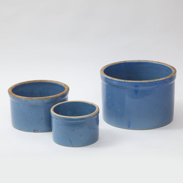 CERAMIC NESTING BOWLS | SET OF 3 Artisan FOUND | MARKED