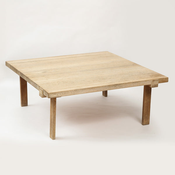 DANISH OAK SQUARE COFFEE TABLE Vintage FOUND | MARKED