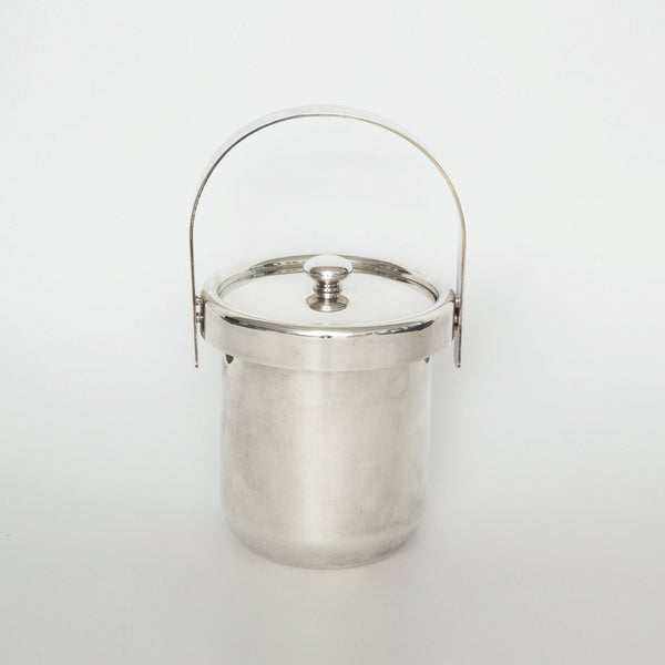 HANDLED ICE BUCKET WITH LID Vintage FOUND | MARKED
