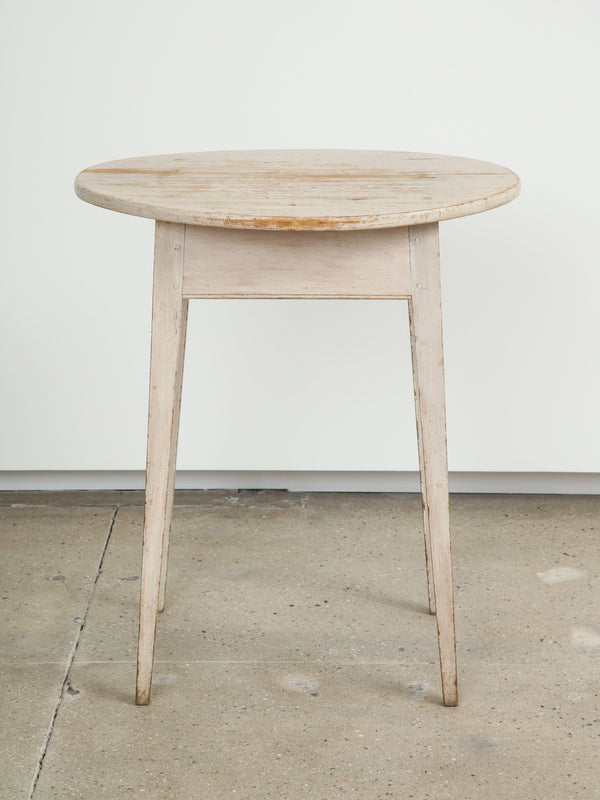 OVAL SIDE TABLE Vintage FOUND | MARKED